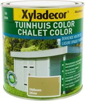 Xyladecor Tuinhuis Color - Houtbeits - Olijfboom - Mat - 1L