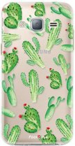 Samsung Galaxy J3 2016 - TPU Soft Case - Back Cover telefoonhoesje - Cactus