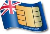 Voice/Data SIM Kaart Nieuw Zeeland (incl 2,50GB Data & Belbundel))