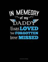 In Memory of My Daddy Always Loved Never Forgotten Forever Missed