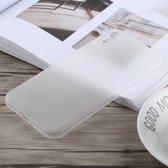 Ultradun Frosted PP-hoesje voor iPhone XR (wit)