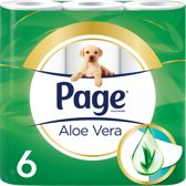 Page® Toiletpapier Aloë Vera 6 rollen