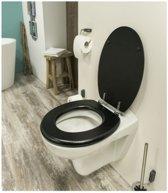 Universele WC-Bril | Toiletbril | Toiletzitting | Easy Clean | Snelle Montage | Afklikbare Scharnieren