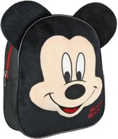 Zwarte Disney Mickey Mouse 3D rugtas voor kinderen