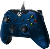 PDP Gaming Controller - Official Licensed - Xbox One + Windows - Blauw