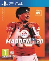Cover van de game Madden NFL 20 - PS4