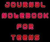 Journal Notebook for Teens