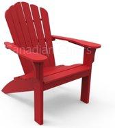 Coastline Adirondack stoel Cherry red