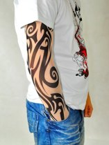 2x Tribal Tattoo Sleeve - Tijdelijke Fake Arm Tatoege Mouw