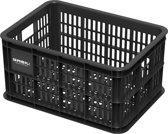 Basil Crate Small Fietskrat - 25 liter - Zwart