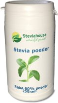 Stevia extract poeder Reb A 60%  in potje - 25g