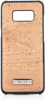 Pelcor Backcover Met Pasjeshouder Samsung Galaxy S8 Plus - Bruin/Zwart