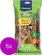 Vitakraft Konijn Kräcker Voordeelpak - Konijnensnack - 6 x 5 stuks