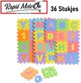 Baby Schuim Foam Letters voor Douche/Bad 36 stuks | Rapid Meteor®