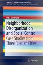 Neighborhood Disorganization and Social Control