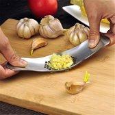 Knoflookpers | Garlic Rocker | De ideale keukenhulp voor het snijden/persen van knoflook