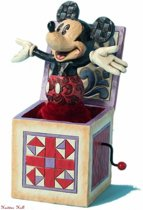 Mickey In The Box Disney Traditions by Jim Shore artikelnummer 4027950 uit 2013