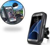 Waterdichte Fietshouder voor alle Telefoons van 5.0 tot 6.3 inch – Waterproof en Dustproof Bike Mount Holder – Fiets Stuur Houder voor onder andere Samsung Galaxy S5 (Neo) / S6 (Edge) (Plus) / S7 (Edge) / A3 A5 / A7 (2017) / J3 J5 J7 (2016)