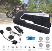1 STUKS - Motor headset intercom multifunctionele waterdichte bluetooth T9S-V3 -helm interphone