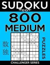 Sudoku Book 800 Medium Puzzles