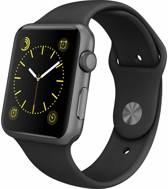 38mm Apple Watch zwart sport bandje - 38mm ML