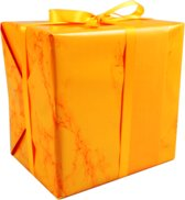 LOVLY® Cadeaupapier, 30cm, 200m, 80gr/m², Marble Candy, oranje
