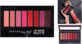 Maybelline Lip Studio Lip Color Palette - 01 Lip Color Palette - 8-shade lip palette