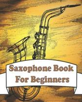 saxophone books for beginners: AMAZING Blank Sheet Music for saxophone players