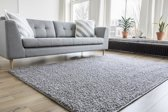 Hoogpolig Vloerkleed Shaggy Collection 80x150 - Licht Grijs