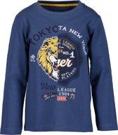 Blue Seven Jongens T-Shirt - Jeansblauw - Maat 92