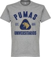 Pumas Unam Established T-shirt - Grijs - S
