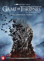 DVD cover van Game of Thrones - Complete Series: Seizoen 1 t/m 8
