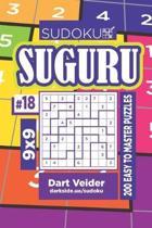 Sudoku Suguru - 200 Easy to Master Puzzles 9x9 (Volume 18)
