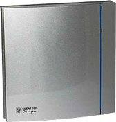 Soler & Palau Silent badkamerventilator - Design - 200cz - zilver
