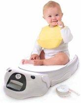 Baby en peuterweegschaal incl. dekentje en meetlint - tot 20 KG -Baby weegschaal met meetlint