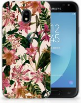 Samsung Galaxy J3 2017 Uniek TPU Hoesje Flowers