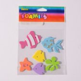 Sticker - Foamies stickers fish - 1 stuk
