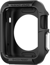 Spigen Rugged Armor Apple Watch (42mm) Case - SGP11496 - Black