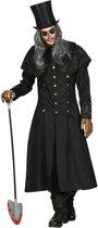 Halloween Kostuum | Gotische Grafdelver Begrafenisondernemer | Man | Medium / Large | Halloween | Verkleedkleding