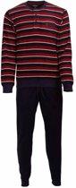 Paul Hopkins Heren Pyjama Badstof Blauw PHPYH2716A Maten: M