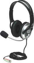 Manhattan 175555 Stereofonisch Hoofdband Zwart hoofdtelefoon