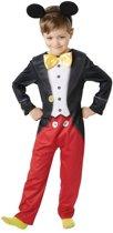 Disney Mickey Mouse kostuum - maat 92/116