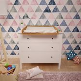 Polini Commodeblad voor IKEA Hemnes Naturel
