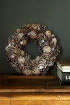 Rivièra Maison Romantic Winter Wreath Krans 33 cm Zilverkleurig