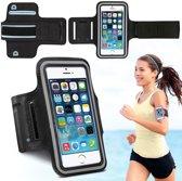Sport / Hardloop Armband Hoesje  Spatwaterdicht – Zwart Sportband – Geschikt voor Motorola Moto G5 Sport Armband Met Sleutelhouder