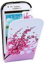 Pink Plum Flip case hoesje Samsung Galaxy S3