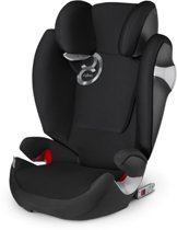 Cybex - Solution M-Fix - Autostoel groep 2,3 -  Black Beauty - black