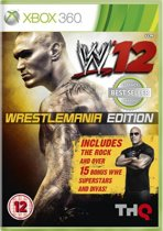 WWE '12 - Wrestle Mania Edition - Classics (BBFC) /X360