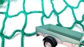 Premium Aanhangernet met Elastisch Koord |  150x220cm | Zware Kwaliteit Aanhangwagen