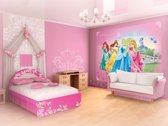 Fotobehang Disney, Prinsessen | Roze | 416x254